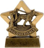 MinI Star Dog Obedience : 3.25 Inch : New 2015