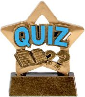 Mini Star Quiz - 3.25 Inch - New 2015