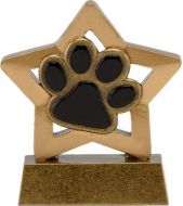 MinI Star Dog/Cat Paw : 3.25 Inch : New 2015
