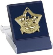 Medal Case for MiniStar Clear Top Blue 60mm