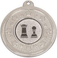 Vf50 Starburst Medal Silver 50mm