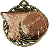 Vortex Netball Medal (New 2014)