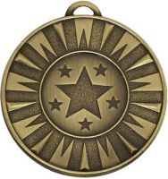 Target50 Flash Medal Bronze 50mm
