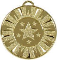 Target50 Flash Medal Gold 50mm