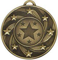 Target50 Star Medal Bronze 50mm
