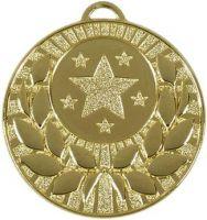 Target50 Wreath Medal Gold 50mm
