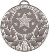 Target50 Wreath Medal Silver 50mm