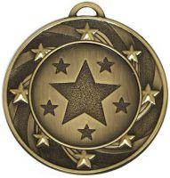 Target40 Star Medal Bronze 40mm