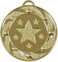 Target40 Star Medal Gold 40mm