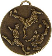 Target50 Football Medal With Rwb - 50mm - New 2015
