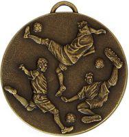 Target50 Football Medal with RWB : 50mm : New 2015