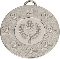 Target50 2nd Medal with RWB 22mm : 50mm : New 2015