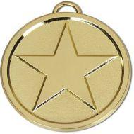 Star50 Bright Medal Gold 50mm