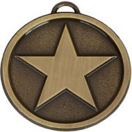 Star50 Bright Medal Ant Gold 50mm