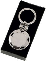 Crown- Round Key Ring (New 2014)