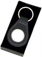 Crown- Round Leather Key Ring (New 2014)