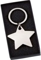 Star Keyring - 2 X 2 Inch - New 2015