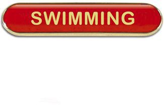 Barbadge Swimming Red (New 2014)