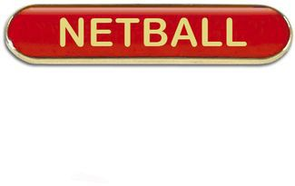 Barbadge Netball Red (New 2014)