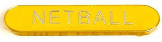 Barbadge Netball Yellow (New 2014)