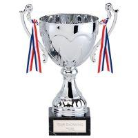 Sydney Cup Trophy Award Silver 9 Inch