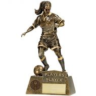 Pinnacle Female Football Players Player