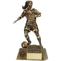 Pinnacle Female Football Most Improved Player