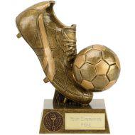 Presentation Football Boot and Ball