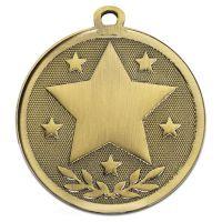 Galaxy Stars Medal Bronze 45mm