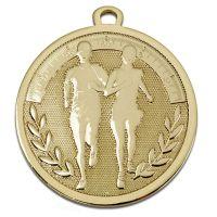 GALAXY Running Medal Gold 45mm