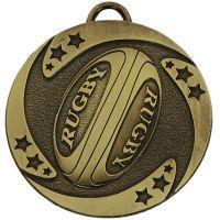 Target Rugby Stars Medal Bronze 50mm