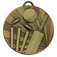 Target Cricket Medal Bronze 50mm