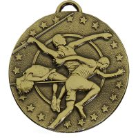 Target Track and Field Medal Bronze 50mm