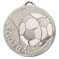 CYCLONE Football Medal Silver 50mm