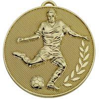 Champion Football Medal Gold 60mm