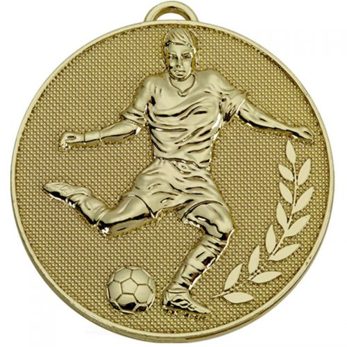 Champion Football Medal Gold 60mm