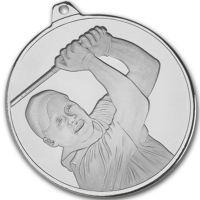 Frosted Glacier Golfer Medal
