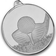 Frosted Glacier Golf Club Medal