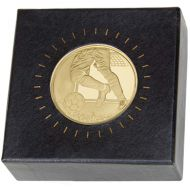 Nordic Football Medal In Clear Case