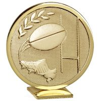 Global Rugby Gold Gold 60mm
