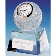 Dublin Crystal Clock