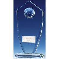Foundation Peak Golf Glass Clear 7 Inch