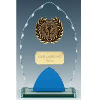 Noble Glass Clear Blue 7.25 Inch