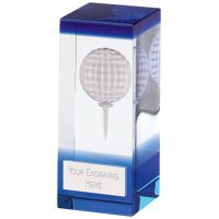 Orbit Blue Golf Crystal