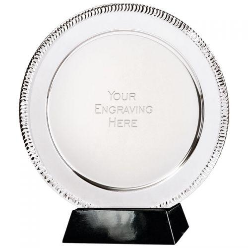Apollo Presentation Salver Silver 8 Inch
