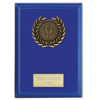 Event Blue Plaque Bold Blue 4 Inch