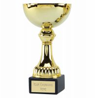 Nordic6 Gold Presentation Cup Trophy Award Gold 6.5 Inch