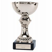 Nordic5 Silver Presentation Cup Trophy Award Silver 5 Inch