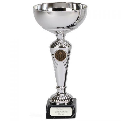 Pemberton Presentation Cup Trophy Award Silver 9.75 Inch