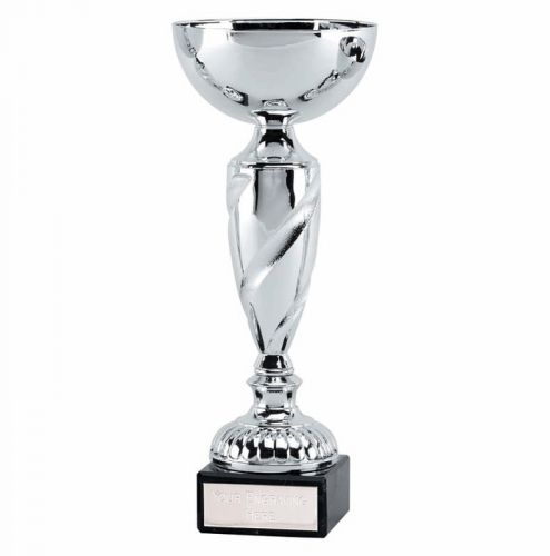 Noble9 Presentation Cup Trophy Award Silver 9 Inch
